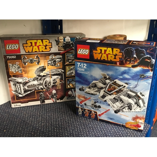 2040 - Two Lego Star Wars box sets (REF:37)....
