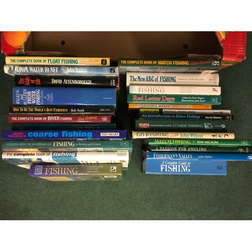 2067 - A collection of coarse fishing books, plus others....