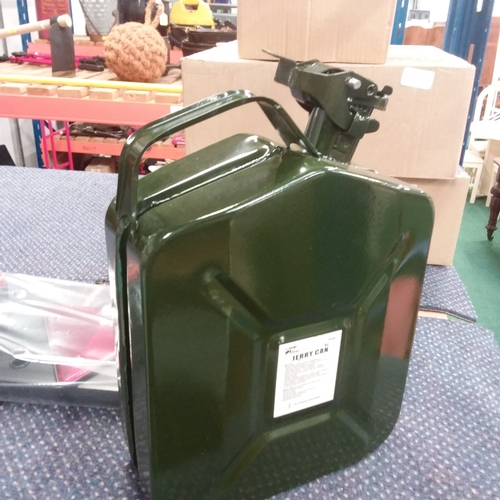 2104 - A 5 litre Jerry can (59)....