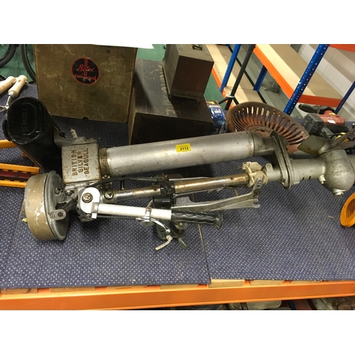 2112 - A Seagull outboard engine....