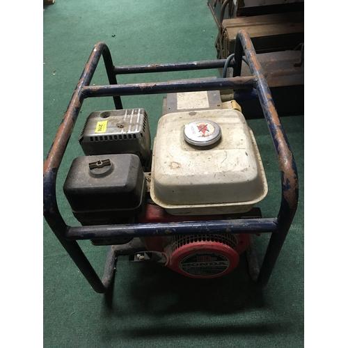2116 - A Honda 5hp generator....