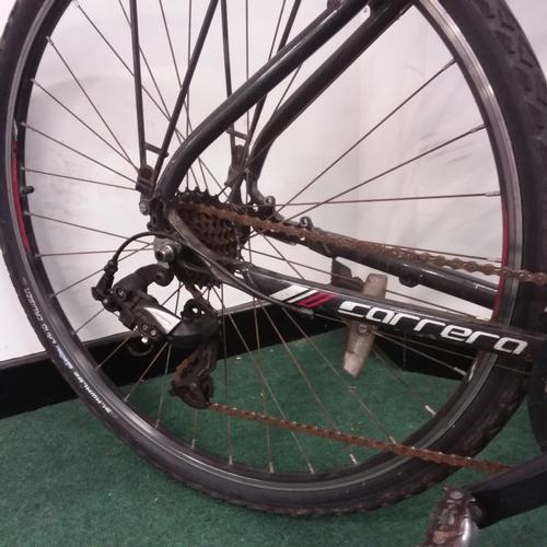 2241 - A Carrera Crossfire black and white mountain bike (REF 226)....