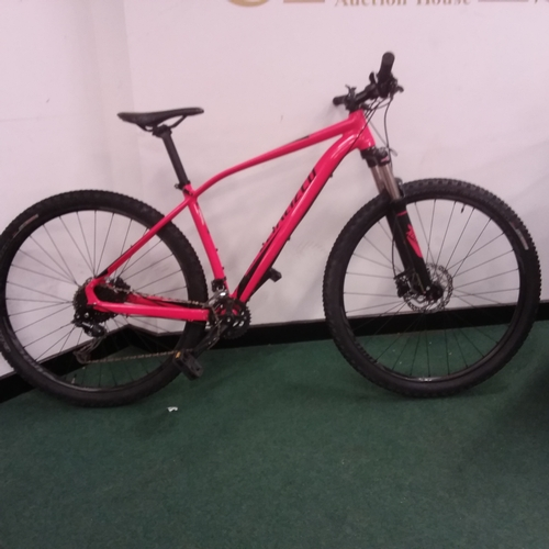 2242 - A red and black Specialized mountain bike (REF 223)...