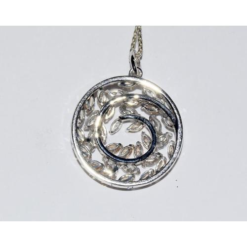 2134 - Thomas Sabo pendant necklace. Ref 29....