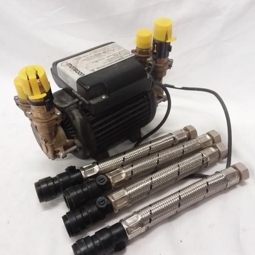1013 - A Stuart Turner monsoon U3.0 bar Twin shower pump....