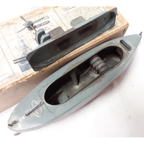 320 - Sutcliffe Models meths fired warship