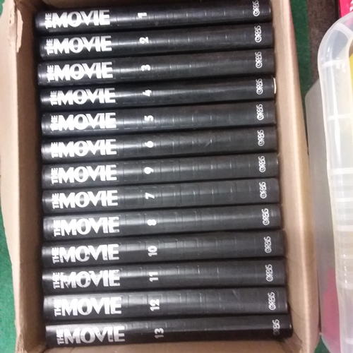 """1042 - A box of """"The Movie"""" books 1-13...."""