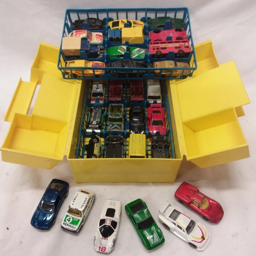 1044 - Various TY eddies together with various playworn metalware cars....