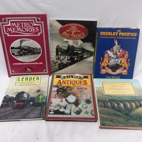 1047 - A box of fifteen various Railway books....