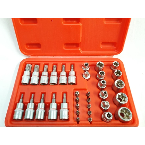 2012 - A 34 piece drive star and socket set (43)....