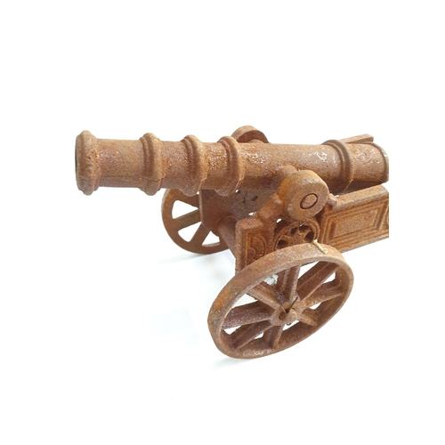 2014 - A small metal cannon (153)....