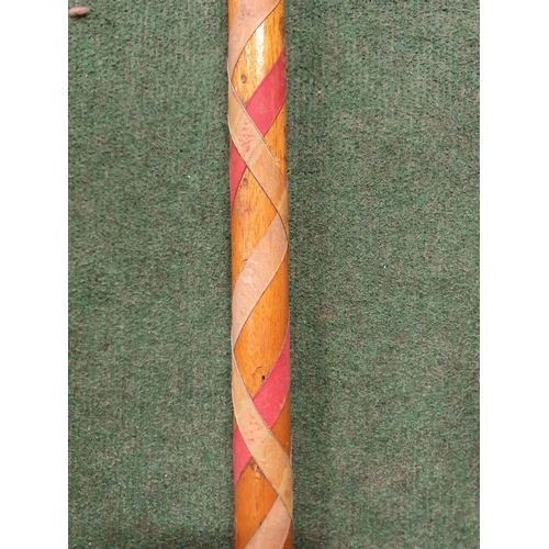 2023 - A Maypole dance stick....