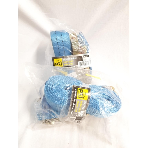 2035 - Two packets of 5m x 35mm straps (76)....