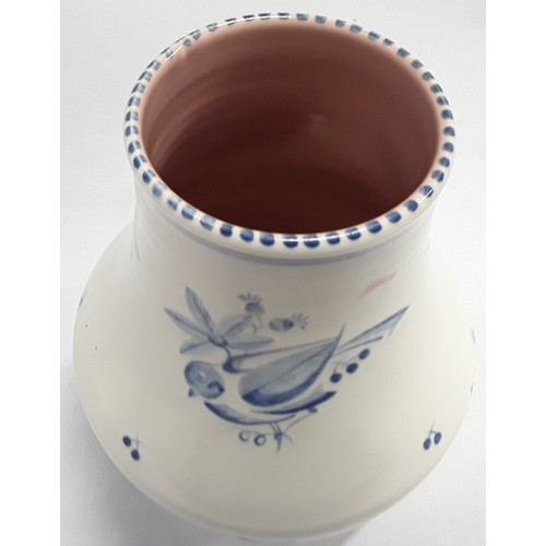 136 - Poole Pottery shape 203 MH pattern vase by Jean Cockram 8