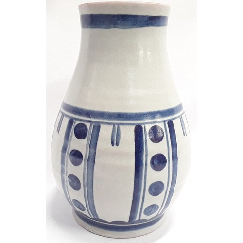 4 - Poole Pottery Carter Stabler Adams shape 336 PX pattern vase large mark no 11, 10