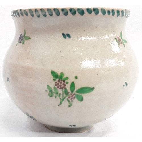 46 - Carter & Co Poole Pottery early transitional ware sprig decoration vase designed by James Radley You...