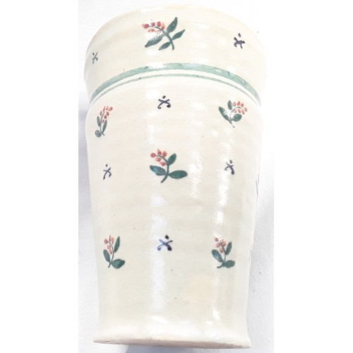 45 - Carter & Co Poole Pottery early transitional ware spring & leaf decoration possibly by James Radley ...