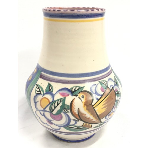 12 - Poole Pottery Carter Stabler Adams shape 203 ZV pattern vase by Ruth Pavely 8