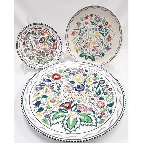 127 - Poole Pottery SK pattern 13.5