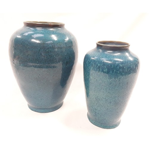 16 - Poole Pottery Carter Stabler Adams shape 980 Chinese blue vase 10.5