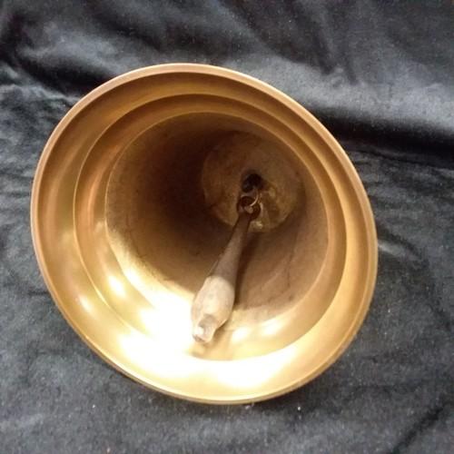 1024 - A large brass school bell.(127)....