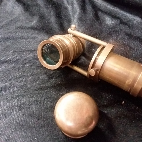 1308 - A walking stick with a telescope top.(179)....