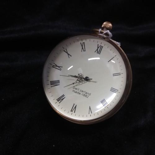 1302 - A jumbo glass ball watch.(162)....