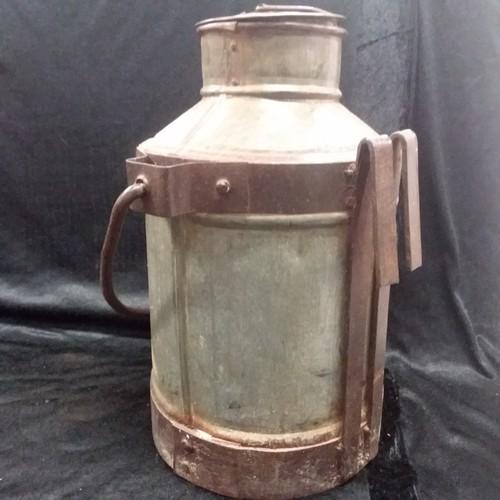 1159 - A 1/2 gallon milk churn.(192)....