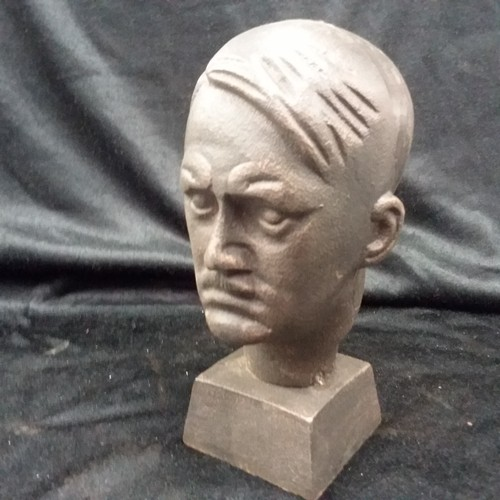 1187 - A cast bust of Hitler.(255)....