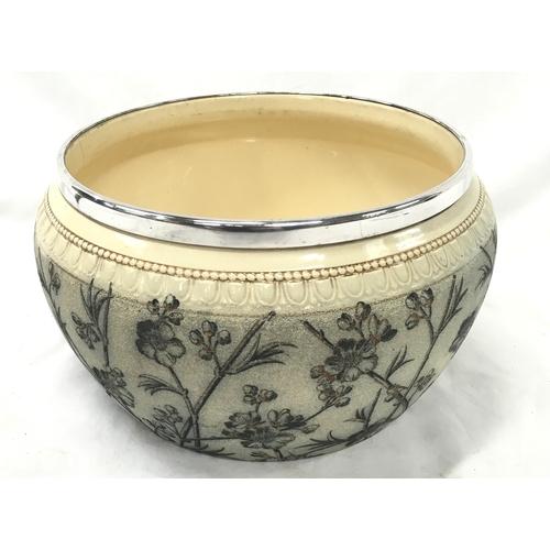 1045 - McIntyre bowl circa 1880. Approx 20cm diameter....