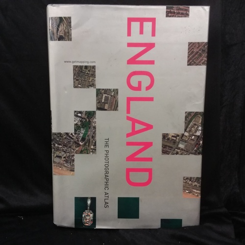 1063 - A large photographic atlas of England....