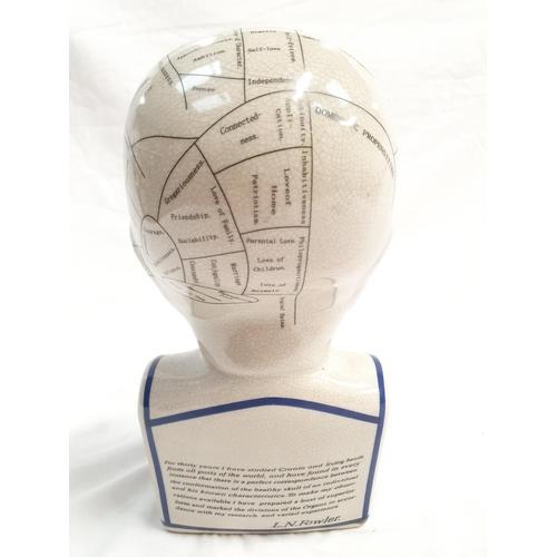 1102 - A phrenology head....