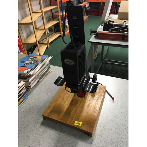 2009 - A Rax photographic enlarger....