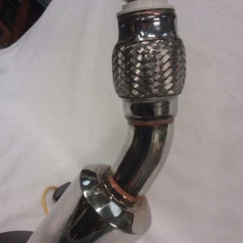 1161 - A steam punk single exhaust light....