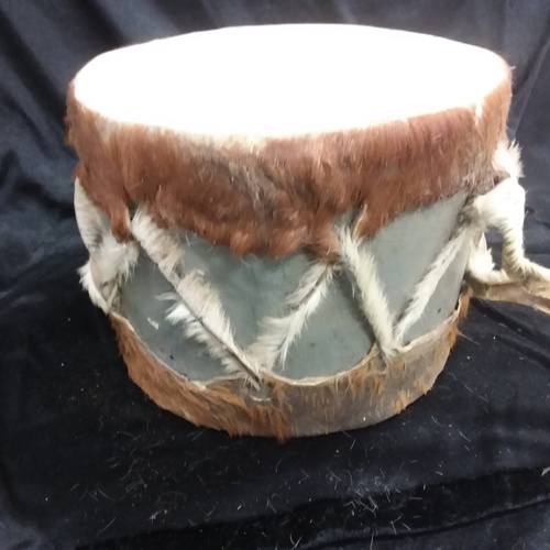 1191 - A tribal drum....