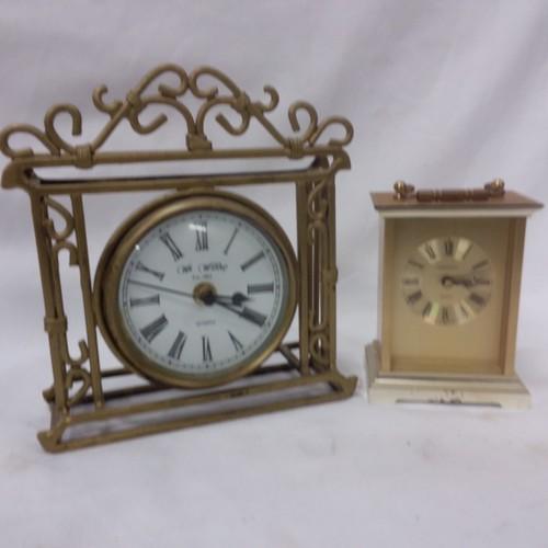 1220 - Four carriage clocks....