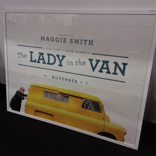 1259 - A modern framed film poster. Maggie Smith in
