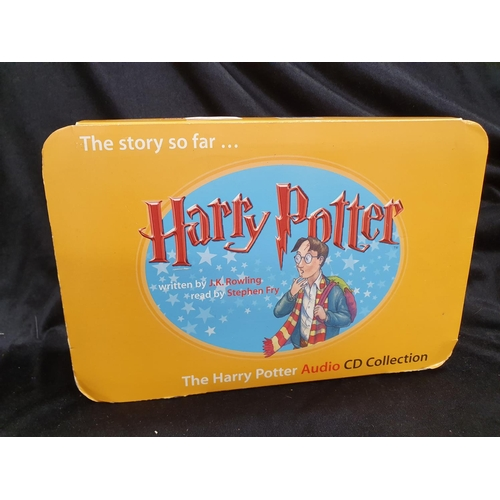 1211 - A boxed set of Harry Potter audio CD collection together with a boxed set of Game of Thrones booklet...