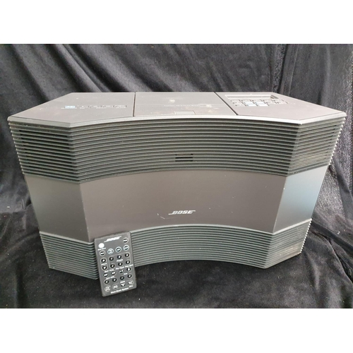 1214 - A Bose acoustic wave system model no.c3000 with remote....