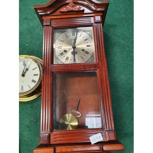 1226 - Three wall clocks....
