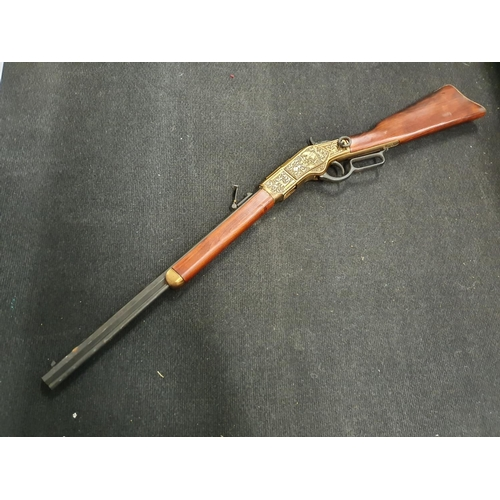 1258 - A lever action replica Winchester rifle....