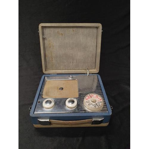 1345 - A vintage 1950s Pye portable transistor radio....
