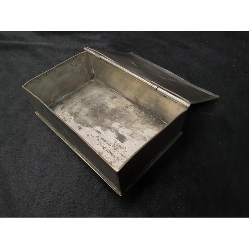 1351 - An oriental pewter jewellery box....