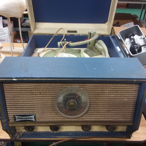 1400 - A Dansette portable record player....