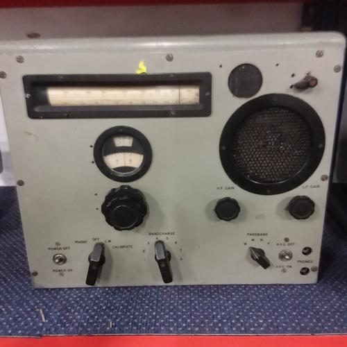 2023 - A vintage industrial radio unit....