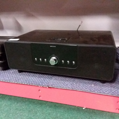2048 - Four Pioneer hifi units with a Kitsound speaker with docking plate....