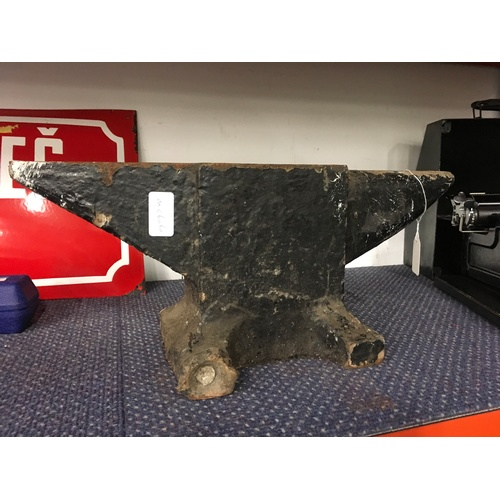 2014 - A medium sized anvil, 46cm in length....