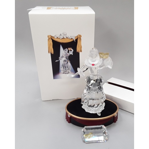 15 - Swarovski Crystal: 2000 Columbine with stand and plaque - Gabriele Stamey - 242032 - with boxes....