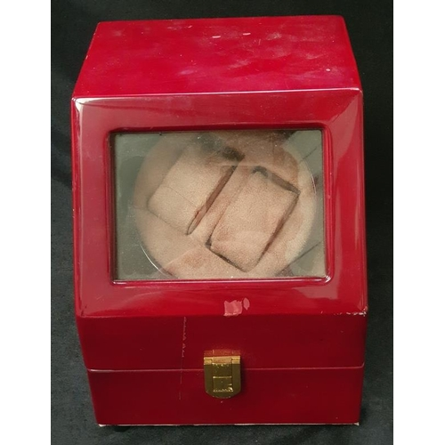 1018 - A modern electric watch winder....