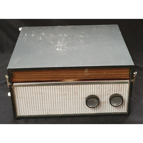 1033 - A vintage 1960's portable record player....